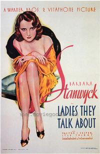 Ladies They Talk About - 43 x 62 Movie Poster - Bus Shelter Style A