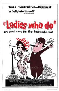 Ladies Who Do - 27 x 40 Movie Poster - Style A