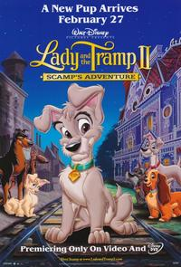 Lady and the Tramp II - 11 x 17 Movie Poster - Style A