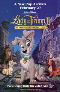 Lady and the Tramp II - 43 x 62 Movie Poster - Bus Shelter Style A