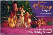 Lady and the Tramp - 11 x 17 Movie Poster - Style D
