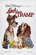 Lady and the Tramp - 27 x 40 Movie Poster - Style C