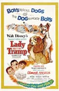 Lady and the Tramp - 27 x 40 Movie Poster - Style D