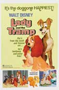 Lady and the Tramp - 27 x 40 Movie Poster - Style E