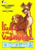 Lady and the Tramp - 27 x 40 Movie Poster - Spanish Style B