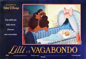 Lady and the Tramp - 11 x 17 Movie Poster - Italian Style A