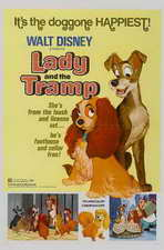Lady and the Tramp - 11 x 17 Movie Poster - Style H