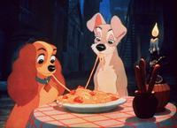 Lady and the Tramp - 8 x 10 Color Photo #2