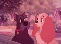 Lady and the Tramp - 8 x 10 Color Photo #8