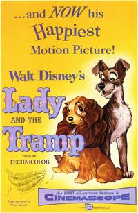 Lady and the Tramp - 11 x 17 Movie Poster - Style A