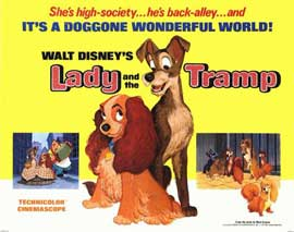 Lady and the Tramp - 11 x 14 Movie Poster - Style A