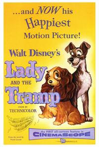 Lady and the Tramp - 27 x 40 Movie Poster - Style A