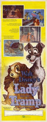 Lady and the Tramp - 14 x 36 Movie Poster - Insert Style A