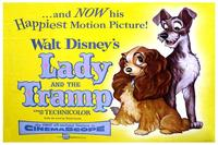 Lady and the Tramp - 11 x 17 Movie Poster - Style C