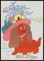 Lady and the Tramp - 11 x 17 Movie Poster - Czchecoslovakian Style A