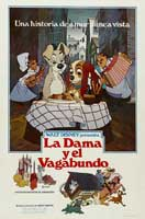 Lady and the Tramp - 43 x 62 Movie Poster - Spanish Style A