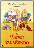 Lady and the Tramp - 11 x 17 Movie Poster - Spanish Style C