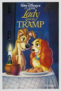 Lady and the Tramp - 27 x 40 Movie Poster - Style I