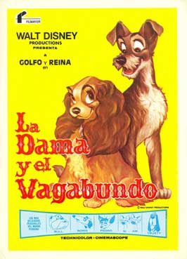 Lady and the Tramp - 27 x 40 Movie Poster - Spanish Style A