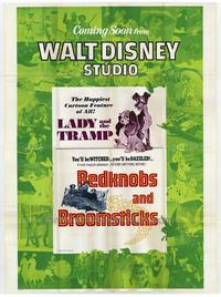 Lady and the Tramp/Bedknobs and Broomsticks combo - 27 x 40 Movie Poster - Style A