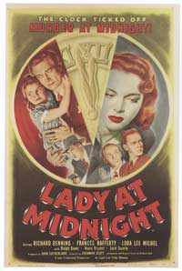 Lady at Midnight - 11 x 17 Movie Poster - Style A