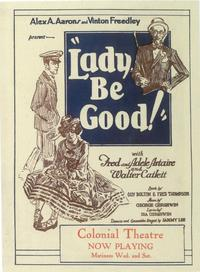 Lady, Be Good (Broadway) - 11 x 17 Poster - Style A