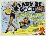 Lady Be Good - 22 x 28 Movie Poster - Half Sheet Style A