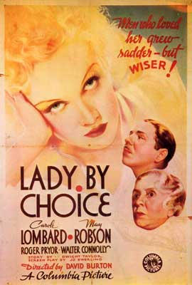 Lady by Choice - 27 x 40 Movie Poster - Style A