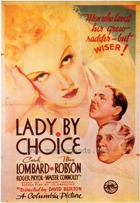 Lady by Choice - 43 x 62 Movie Poster - Bus Shelter Style A