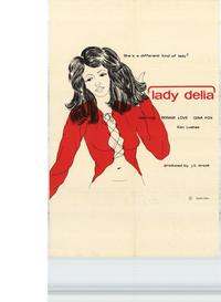 Lady Delia - 11 x 17 Movie Poster - Style A