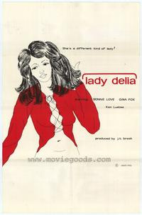 Lady Delia - 27 x 40 Movie Poster - Style A