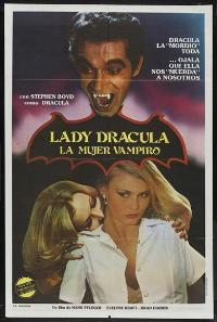 Lady Dracula - 11 x 17 Movie Poster - Spanish Style A