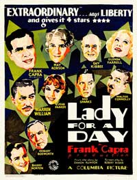 Lady for a Day - 11 x 17 Movie Poster - Style C