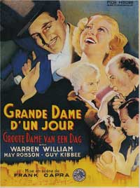 Lady for a Day - 11 x 17 Movie Poster - French Style A