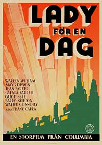 Lady for a Day - 11 x 17 Movie Poster - Swedish Style A