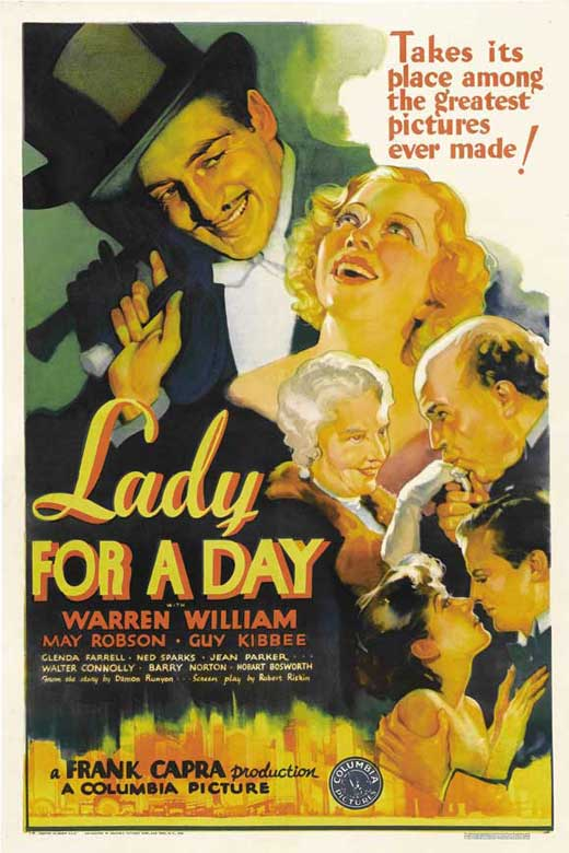 Lady for a Day Movie Posters 1933