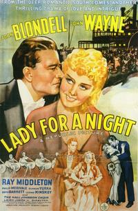 Lady for a Night - 27 x 40 Movie Poster - Style A