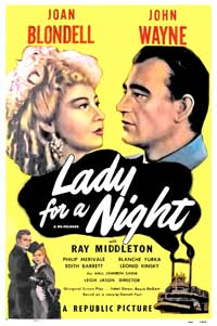 Lady for a Night - 11 x 17 Movie Poster - Style B