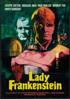 Lady Frankenstein - 11 x 17 Movie Poster - German Style A