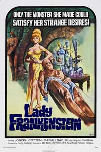 Lady Frankenstein - 43 x 62 Movie Poster - Bus Shelter Style A
