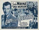 Lady from Louisiana - 11 x 17 Movie Poster - Style B