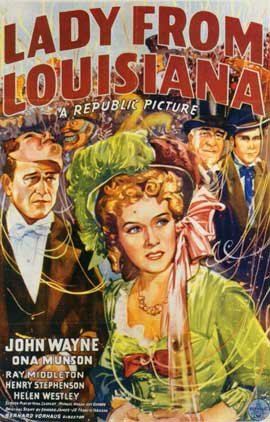 Lady from Louisiana - 11 x 17 Movie Poster - Style A