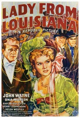 Lady from Louisiana - 27 x 40 Movie Poster - Style A