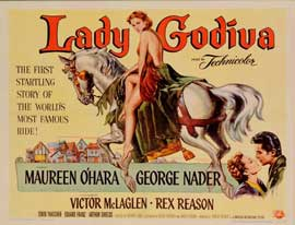 Lady Godiva of Coventry - 11 x 17 Movie Poster - Style A