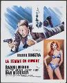 Lady in Cement - 11 x 17 Movie Poster - French Style A