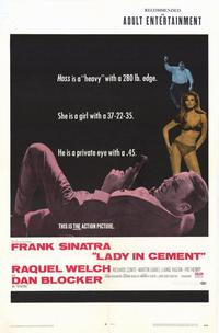 Lady in Cement - 11 x 17 Movie Poster - Style A