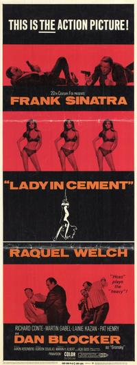 Lady in Cement - 11 x 17 Movie Poster - Style B