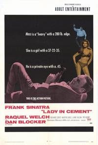 Lady in Cement - 27 x 40 Movie Poster - Style A