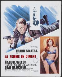 Lady in Cement - 27 x 40 Movie Poster - French Style A