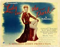 Lady in the Dark - 11 x 14 Movie Poster - Style A